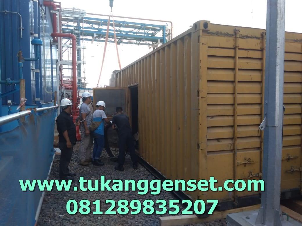 loading genset 1000 KVA di PLTU Tj.PRIOK sewa genset www.tukanggenset.com