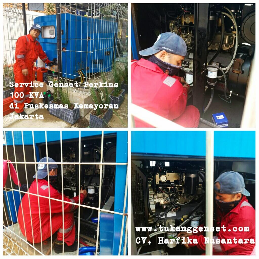 Service Genset di Puskesmas kemayoran Jakarta
