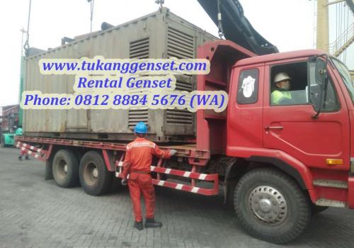 Sewa Genset 1250 KVA - Pelabuhan Tanjung Priok