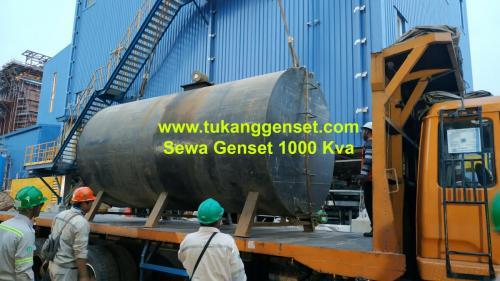 Sewa Genset 1000 KVA di PLTGU Muara Karang