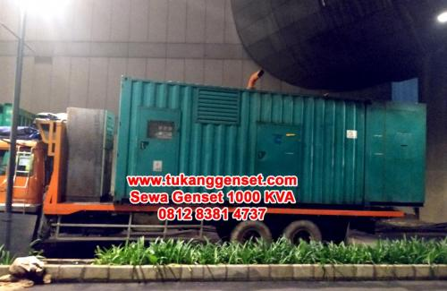 Sewa Genset 1000 KVA - Mall Taman Anggrek