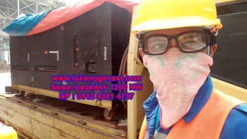 Uji Beban Genset 2000 KVA dan 1250 KVA di Gunung Putri - Bogor
